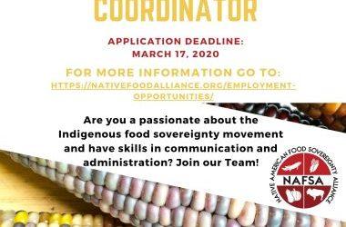 Now Hiring! Communications/Admin Coordinator