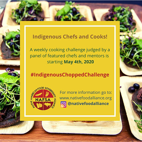 Indigenous Chopped Challenge